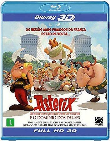 Blu-Ray 3D/2D - Asterix E O Domínio Dos Deuses