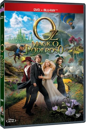 DVD +  Blu-ray Oz Mágico e Poderoso - James Franco