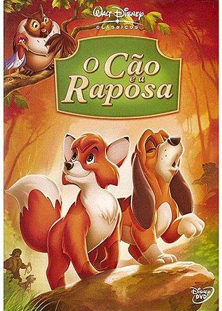Dvd O Cão E A Raposa - Disney
