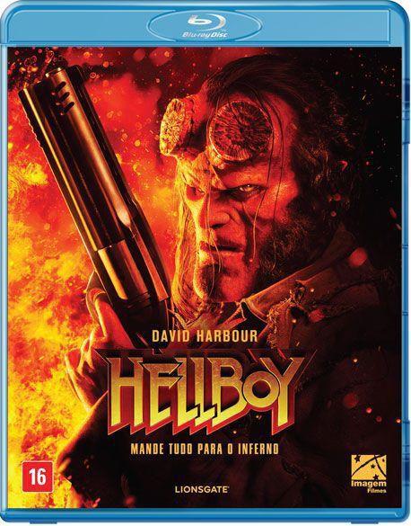 Blu-Ray - Hellboy - Mande Tudo Para O Inferno