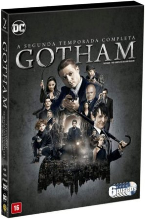 Box Dvd: Gotham - 2ª Temporada Completa (6 Discos)