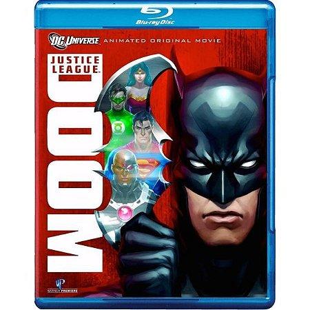 Blu Ray Liga Da Justica Doom - A Legião Do Mal