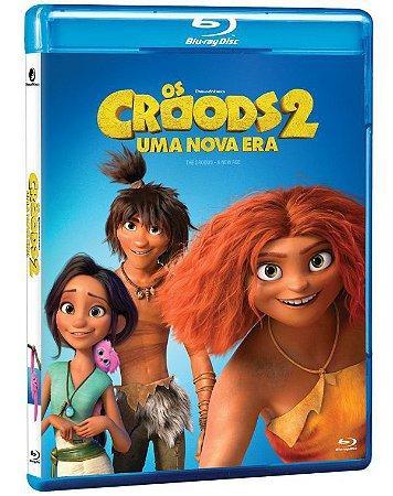 Blu-Ray OS CROODS 2: UMA NOVA ERA -Pré venda entrega a partir de 29/09/21