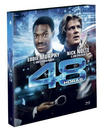 Blu-Ray (LUVA)  48 HORAS -  Eddie Murphy - EXCLUSIVO Pré venda entrega a partir de 29/09/21