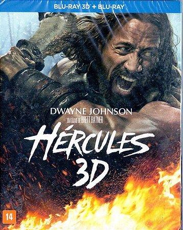 Blu Ray 3D+BD -  Hercules - Dwayne Johnson