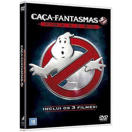 DVD Coleçao Caça-Fantasmas (3 Discos)