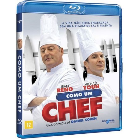 Blu-Ray - Como um Chef - Jean Reno
