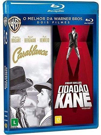 Blu Ray Casablanca + Cidadão Kane ( 2 DISCOS)