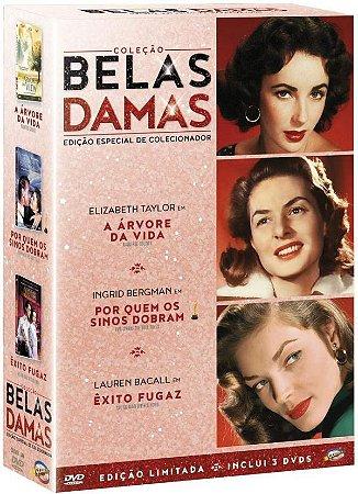 DVD Coleção Belas Damas - 3 Discos