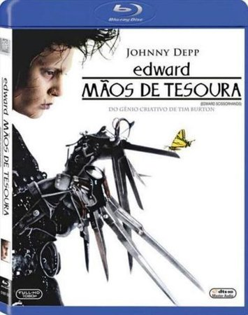 Blu-ray - Edward Mãos de Tesoura
