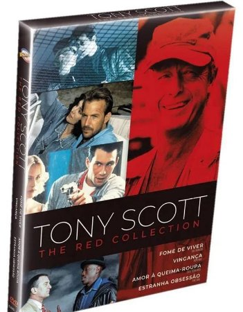 DVD Coleção Tony Scott - The Red Collection