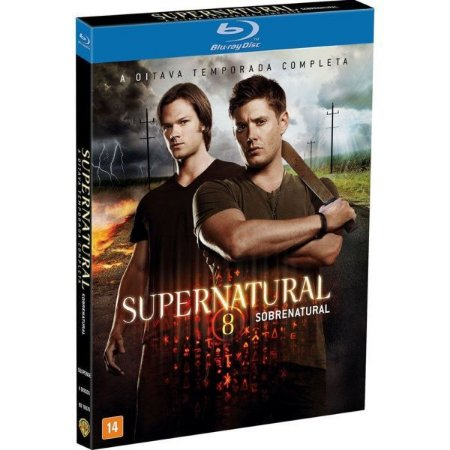 Blu-ray Supernatural - Sobrenatural - 8ª Temporada