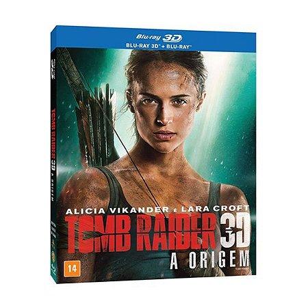 Blu-Ray + Blu-Ray 3D - Tomb Raider: A Origem
