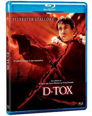 Blu-Ray D-Tox - Sylvester Stallone - Pré venda entrega a partir de 24/11/21