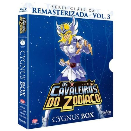 Blu-ray Os Cavaleiros Do Zodíaco - Série Clássica Remasterizada, V.3