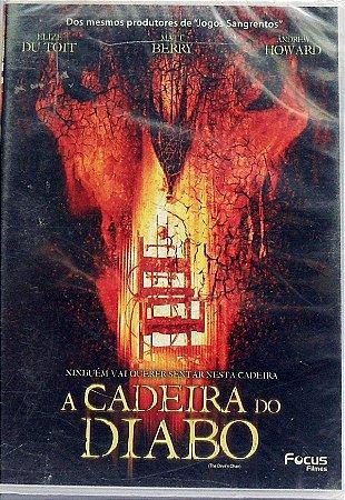 Dvd - A Cadeira Do Diabo