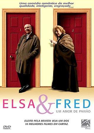 Dvd Elsa E Fred - Um Amor De Paixão