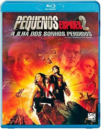 Blu-ray Pequenos Espiões 2