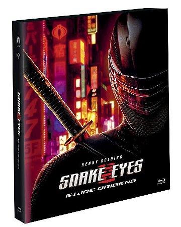 Blu-Ray (LUVA) G.I. Joe Origens - Snake Eyes - Pré venda entrega a partir de 24/11/21 (EXCLUSIVO)