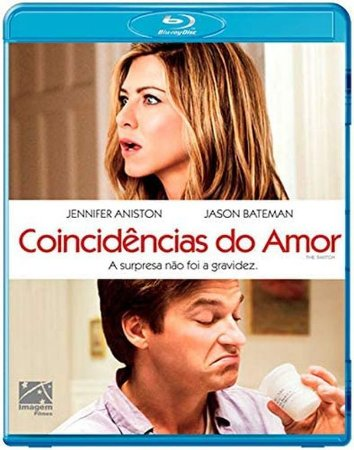 Blu-ray Coincidências Do Amor - Jennifer Aniston