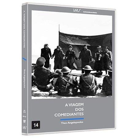 DVD A Viagem dos Comediantes - Theo Angelopoulos - Bretz Filmes