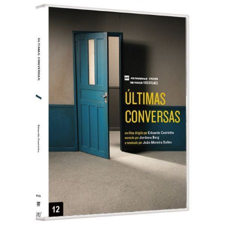DVD ÚLTIMAS CONVERSAS - Eduardo Coutinho - Bretz Filmes