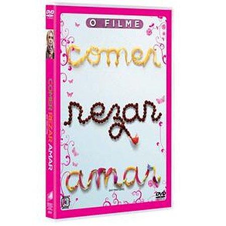 DVD Comer Rezar Amar - Julia Roberts