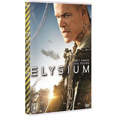 Dvd - Elysium - Matt Damon