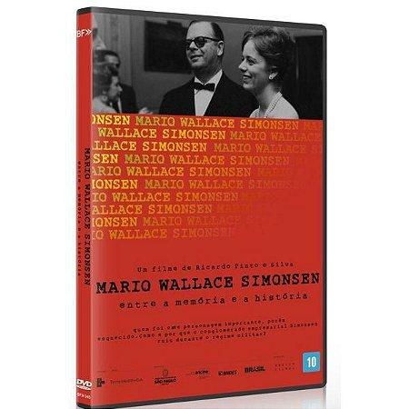 DVD Mário Wallace Simonsen Entre a Memória e a História - Bretz Filmes