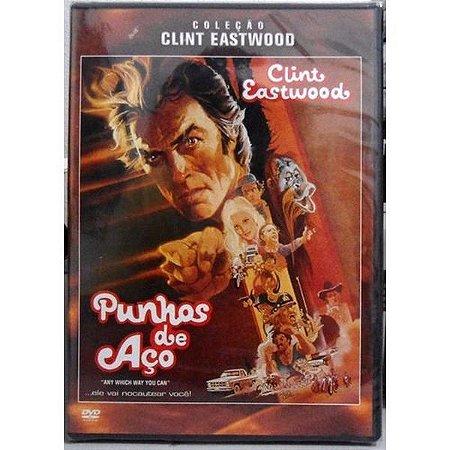 DVD Punhos de Aço - Clint Eastwood