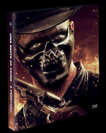 Blu-Ray (LUVA)  Uma Noite de Crime A Fronteira (EXCLUSIVO) Pre venda entrega a partir de 16/12/21
