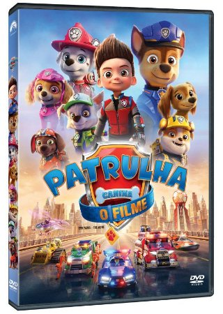 DVD Patrulha Canina - O Filme - Pre venda entrega a partir de 16/12/21