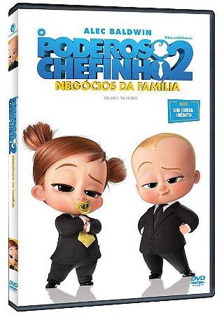 DVD O Poderoso Chefinho 2 Negócios Da Família  Pre venda entrega a partir de 16/12/21