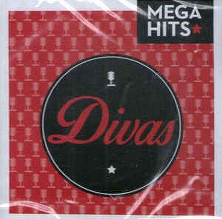 Cd Coletânea  Divas - Mega Hits