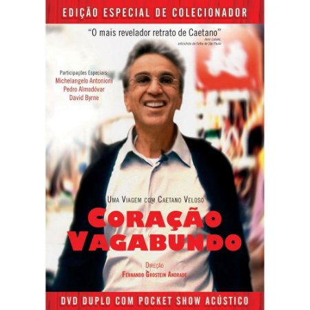 Dvd Duplo Coração Vagabundo - Caetano Veloso