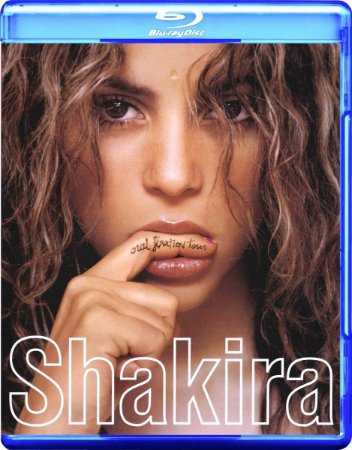 Blu Ray e Cd Shakira Fixation Tour