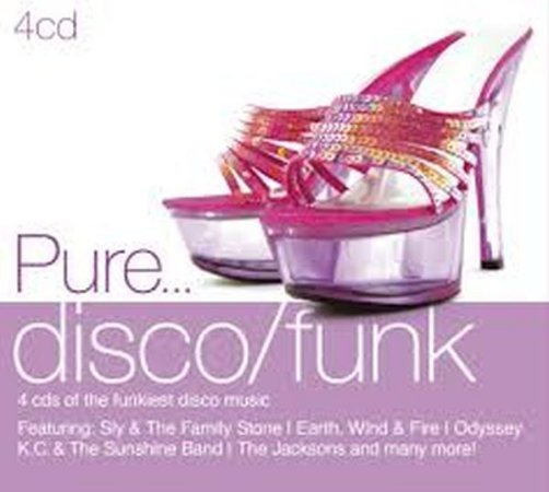 Cd Pure... Disco/funk - 4 Cds - Digipack