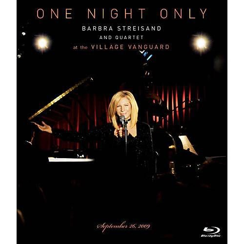 Bluray Barbara Streisand  One Night Only