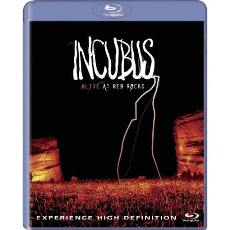 Blu ray / CD Incubus: Alive At Red Rocks