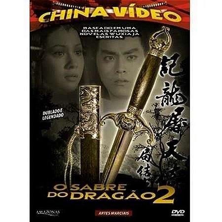 Dvd - O Sabre Do Dragão 2 - China Video
