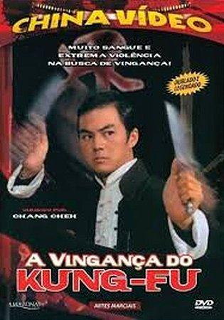 Dvd A Vingança do Kung-fu - China Video
