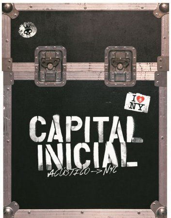 Box Dvd - 2 cds  - Capital Inicial Acustico Nyc