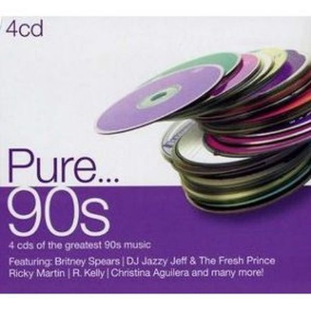 Cd Pure... 90s  4 Cds  Digipack