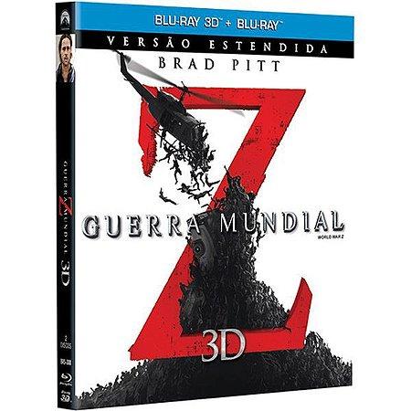 Blu-Ray 3D 2D - Guerra Mundial Z - World War Z
