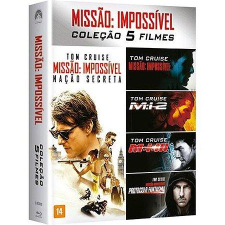 Blu-Ray Coleção Missão Impossível - 5 Discos