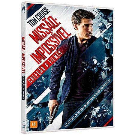 DVD Missão Impossível - Coleção 6 Filmes