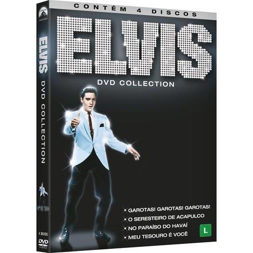 DVD Elvis Collection (4 DVDs)