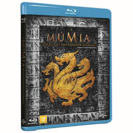 Blu-ray - A Múmia - A Tumba Do Imperador Dragão
