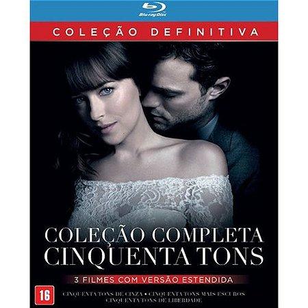 Coleção Completa Cinquenta Tons - Blu-ray