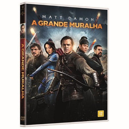 DVD - A Grande Muralha